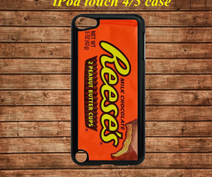 ipod touch 4 case, ipod touch 5 case, and peanut butter cup image