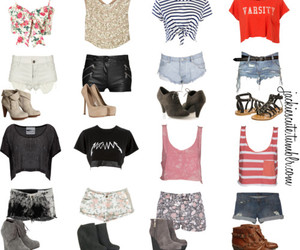 outfit, shorts, and clothes image
