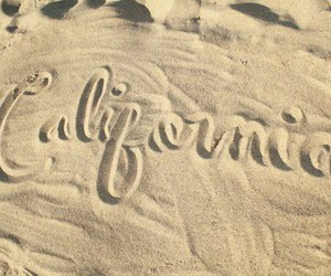 california, beach, and summer image