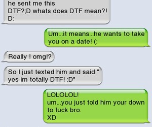 What does dtf mean in texting