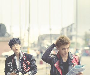 b.a.p, zelo, and yongguk image