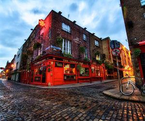 architecture, irish, and blue hour image