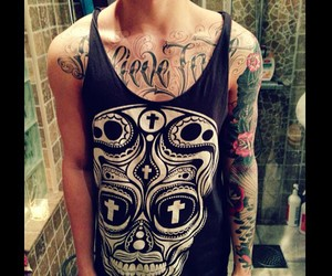 chestpiece, hipster, and rose image