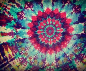 hippie and tie dye image