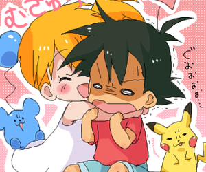 pikachu, pokemon, and love image