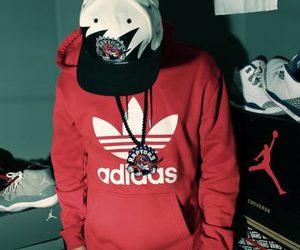 boy, swag, and adidas image