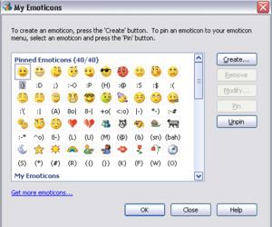 emoticon, msn, and grunge image