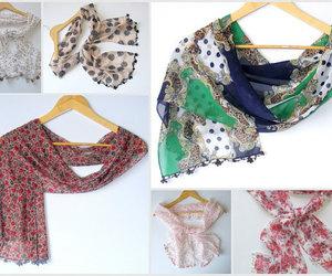scarf, shawl, and fashion scarf image