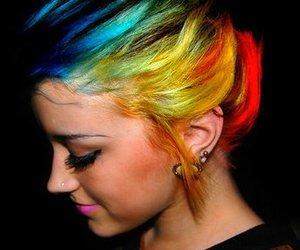 awesome, girly, and hair image