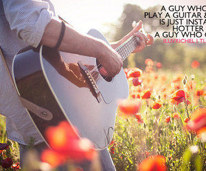 summer and a guy with a guitar image