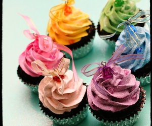 cupcake, tea party, and yummy image