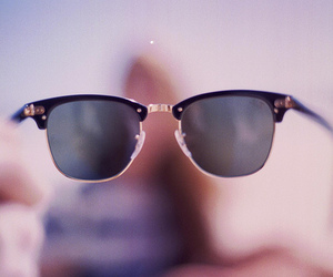 vintage, glasses, and sunglasses image