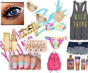 bikini, bright young things, and fashion image