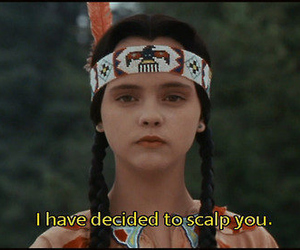 scalp, the addams family, and wednesday addams image