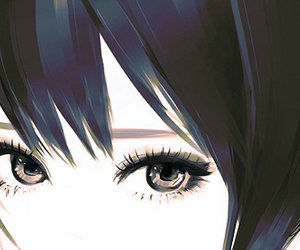 eyes and anime image