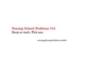 nursing, problem, and school image