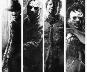 Micheal, Freddy, and jason image