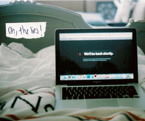 tumblr, lies, and macbook image