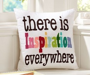 inspiration, pillow, and everywhere image