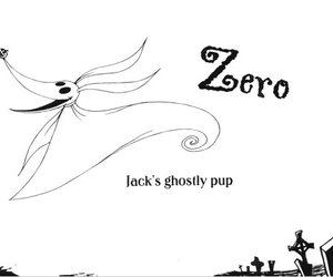 jack, tim burton, and zero image