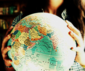 world and globe image
