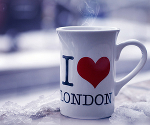 london, mug, and cup image