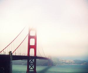 bridge, california, and water image