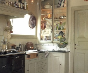 country, pantry, and shabby chic image