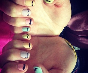 manicure, pastel, and pretty image