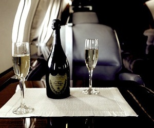 luxury, champagne, and drink image