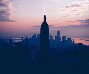 new york, city, and photography image