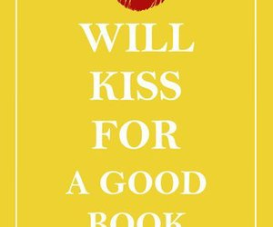 book, kiss, and books image