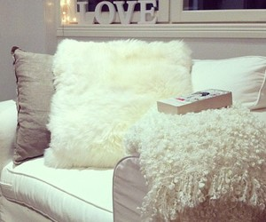 love, white, and room image