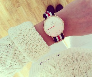arm, clock, and ootd image