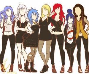 fairy tail, girl, and Lucy image