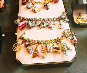 bracelet, juicy couture, and charm image