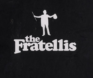 black and white, the fratellis, and love image
