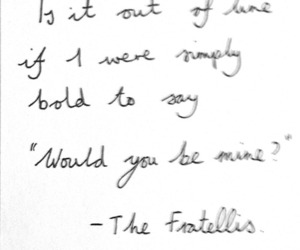 song, the fratellis, and whistle for the choir image