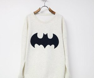 batman, sweater, and clothes image
