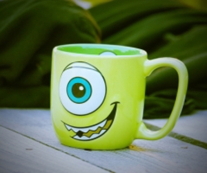 cup, disney, and green image