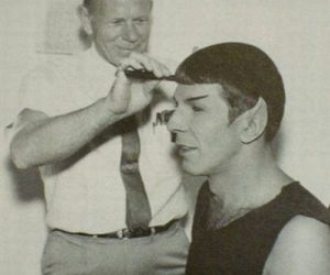 spock, star trek, and leonard nimoy image