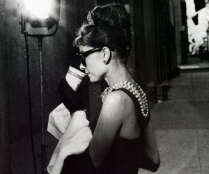 audrey, audrey hepburn, and black and white image