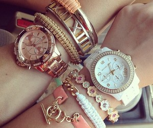 watch, bracelet, and accessories image