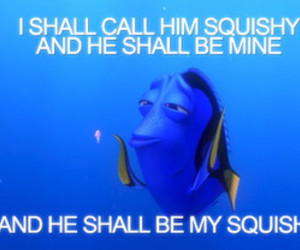 dory, squishy, and finding nemo image