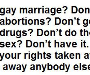 abortion, gay, and abortions image