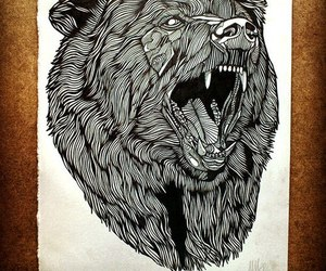 art and bear image