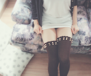 girl and stockings image