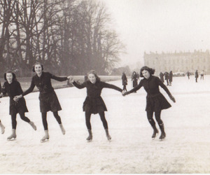 vintage and winter image