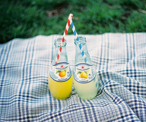 drink, vintage, and lemonade image