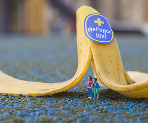 banana, hide and seek, and little people image